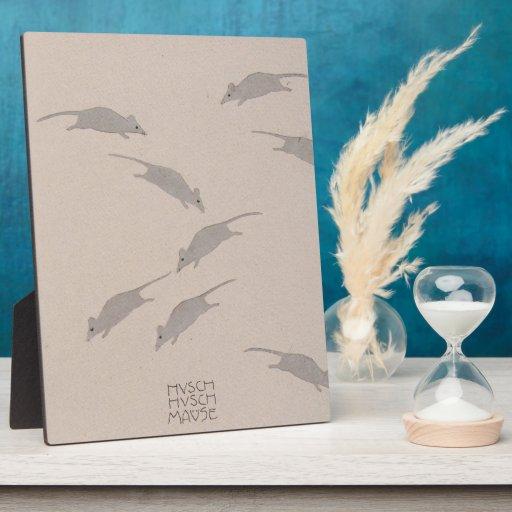 Libro de la Moser-Imagen de Koloman para la sobrin Placa De Madera