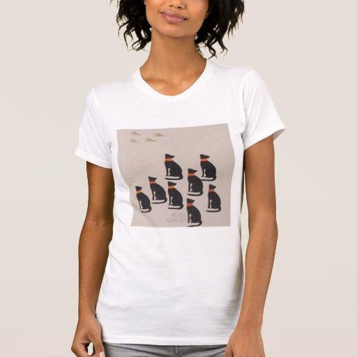 Libro de la Moser-Imagen de Koloman para la sobrin Camisetas