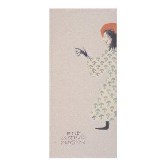 Libro de la Moser-Imagen de Koloman para la sobrin Lona Publicitaria