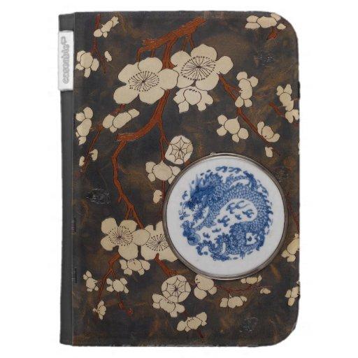 Libro de la porcelana china azul y blanca