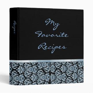 Libro de la receta de la cinta del damasco del zaf