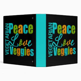 """Libro de la receta de los Veggies del amor de la p Carpeta 1 1/2"""""""
