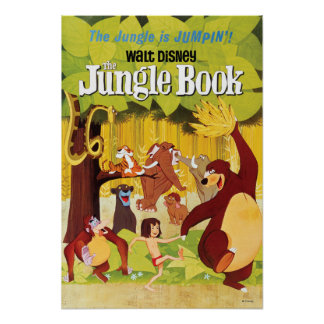 Libro de la selva póster