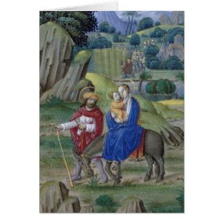 Libro de la tarjeta de Navidad de las horas