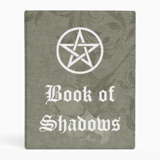 Libro de las brujas de las sombras, floral color mini carpeta