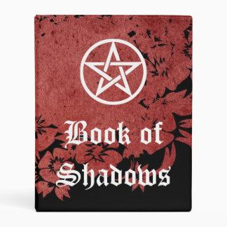 Libro de las brujas de sombras, del negro del mini carpeta