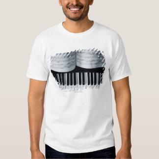 Libro de las llaves y de música del piano playeras