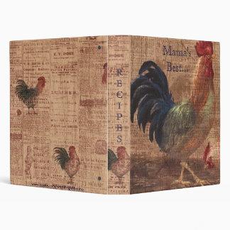 ¿Libro de las recetas de los gallos franceses del