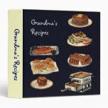 Libro de las recetas del vintage, toda la cocina a