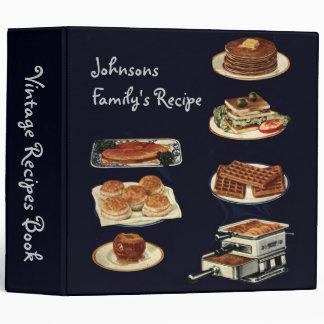 """Libro de las recetas del vintage, toda la cocina carpeta 2"""""""