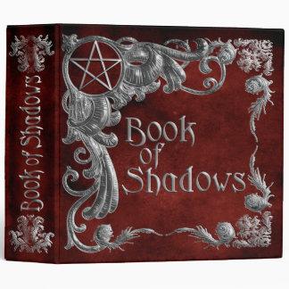 Libro de las sombras rojas con los puntos