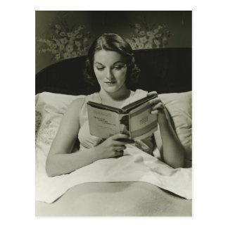 Libro de lectura de la mujer postal