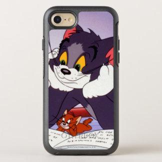 Libro de lectura de Tom y Jerry dedicado Funda OtterBox Symmetry Para iPhone 7
