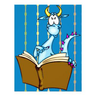 """Libro de lectura del dragón folleto 8.5"""" x 11"""""""