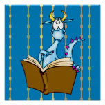 Libro de lectura del dragón impresiones
