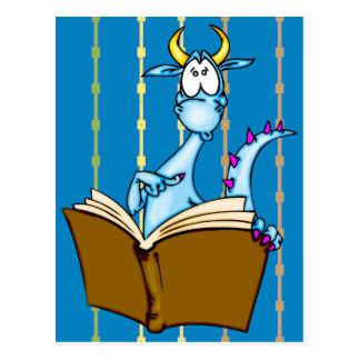 Libro de lectura del dragón postal