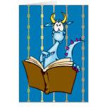 Libro de lectura del dragón tarjetas