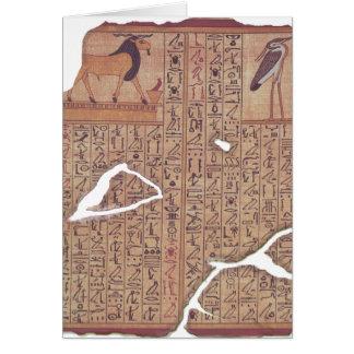 Libro de los muertos - Ani Tarjeta De Felicitación