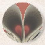 Libro de los prácticos de costa de los corazones posavasos manualidades
