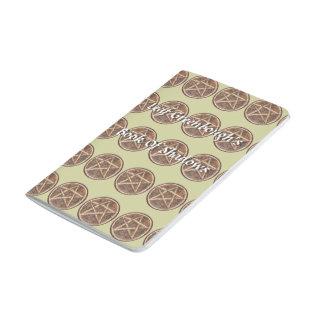 Libro de madera del BOS del viaje de los pentáculo Cuaderno