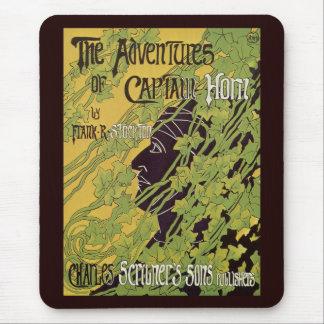Libro de Nouveau del arte del vintage, capitán Tapete De Ratones