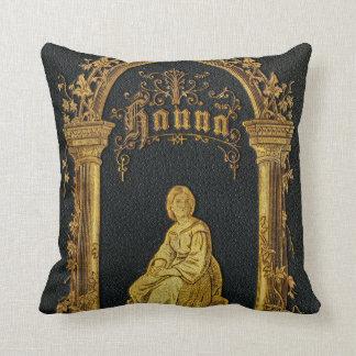 Libro de oración judío dorado Hanna de la antigüed Cojines