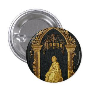 Libro de oración judío dorado Hanna de la antigüed Pins