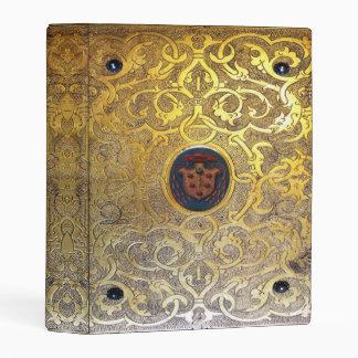Libro de oro antiguo de los remolinos de Falln Mini Carpeta
