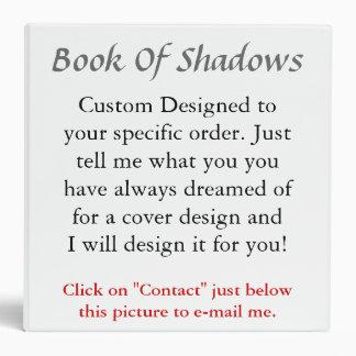 """Libro de pedidos de encargo de sombras carpeta 2"""""""
