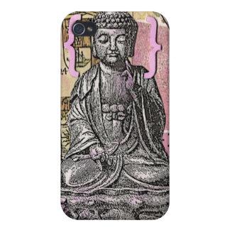 libro de recuerdos Buda iPhone 4 Fundas