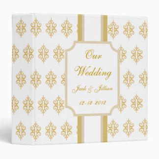 Libro de recuerdos clásico personalizado del boda