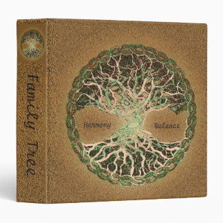 """Libro de recuerdos de encargo del árbol de familia carpeta 1 1/2"""""""