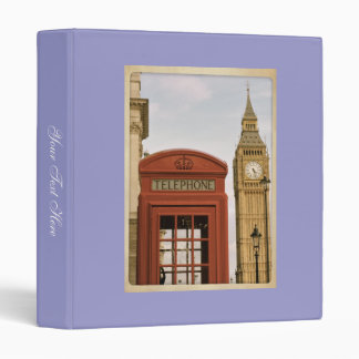 "Libro de recuerdos de Londres Carpeta 1"""