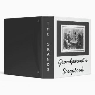 """Libro de recuerdos de los abuelos carpeta 1 1/2"""""""