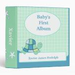 Libro de recuerdos del álbum de la foto del bebé d