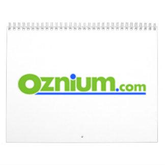 LIBRO DE RECUERDOS del oznium Calendarios