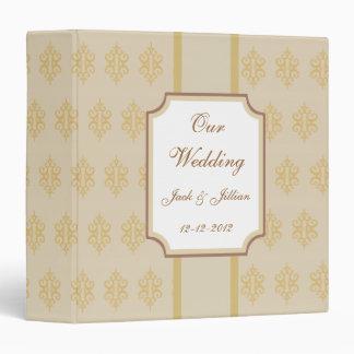 Libro de recuerdos elegante personalizado del boda