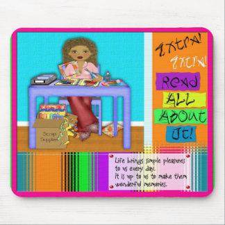 Libro de recuerdos Mousepad Alfombrilla De Raton