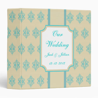 Libro de recuerdos personalizado del boda de la cr