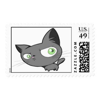 Libro de sello del gatito de la desaprobación