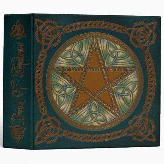 Libro de sombras en el pentagram azul y verde 1
