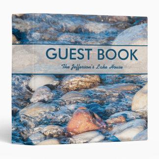 Libro de visitas de encargo de la casa del lago