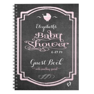 Libro de visitas de la ducha del Mirada-Bebé de la