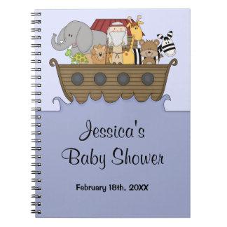 Libro de visitas de la fiesta de bienvenida al beb libreta