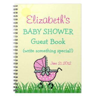 Libro de visitas de la fiesta de bienvenida al beb cuadernos