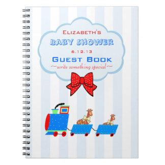 Libro de visitas de la fiesta de bienvenida al note book