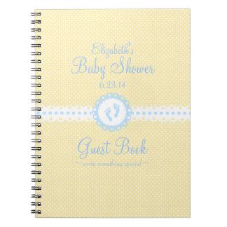 Libro de visitas de la Huella-Ducha del bebé