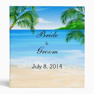 """Libro de visitas tropical del boda de playa carpeta 1"""""""