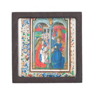 Libro del arte del manuscrito iluminado de las cajas de regalo de calidad