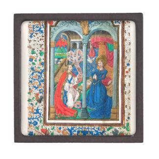 Libro del arte del manuscrito iluminado de las cajas de joyas de calidad